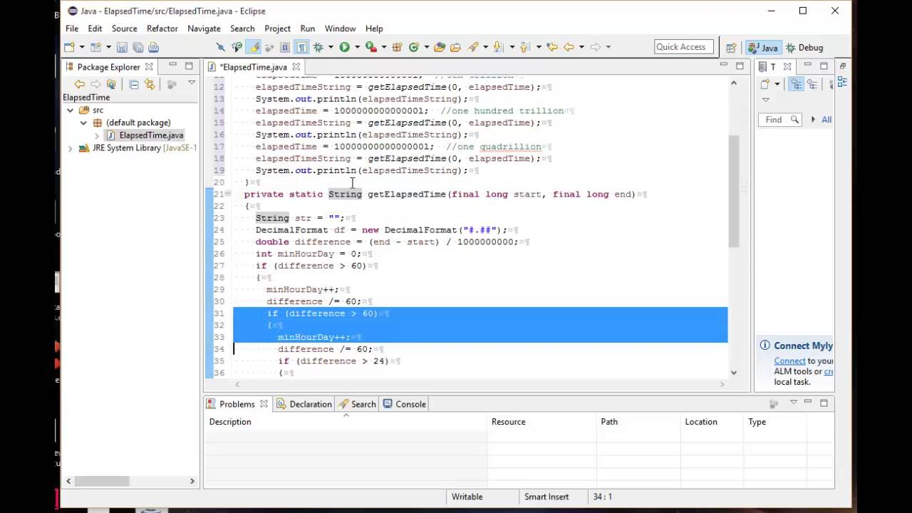 Java - how to Convert nanoseconds to seconds, minutes, hours, and days