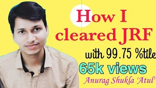 How I cleared JRF with 99 75 Best Book for Paper 1 NTA ugc NET