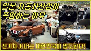 일본 자동차 산업 폭망할 수 밖에 없다! 전기차 시대 …