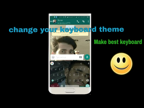 How To Set Wallpaper On Keyboard😍😍