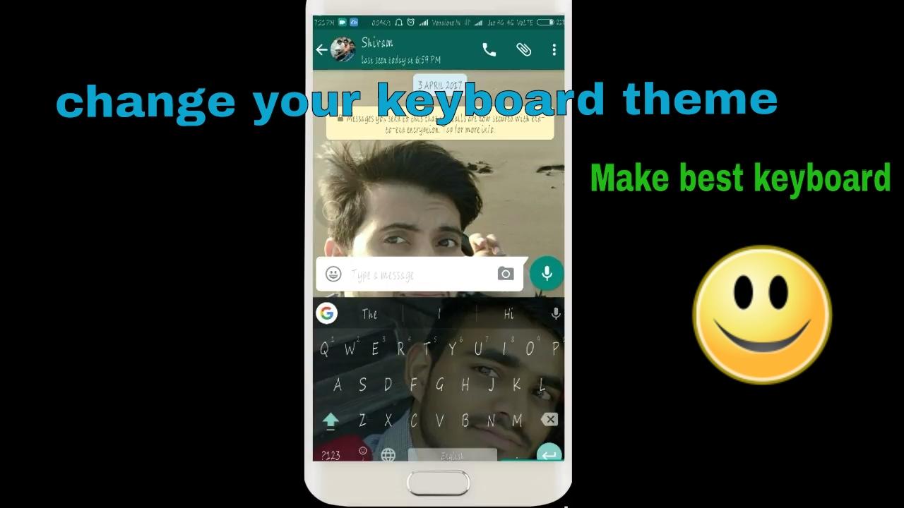 How To Set Wallpaper On Keyboard F F  D F F  D