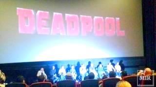 Teaser VLOG: DEADPOOL Private Advance Movie Screening    January 18, 2016