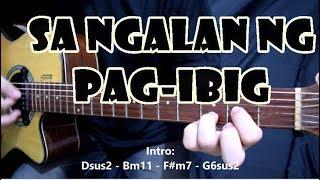 Sa Ngalan Ng Pag-Ibig - December Avenue   Guitar Cover with Chords