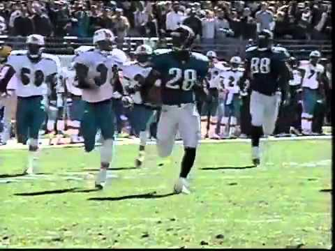 Jacksonville Jaguars vs Miami Dolphins - Fred Taylor 90 yard run