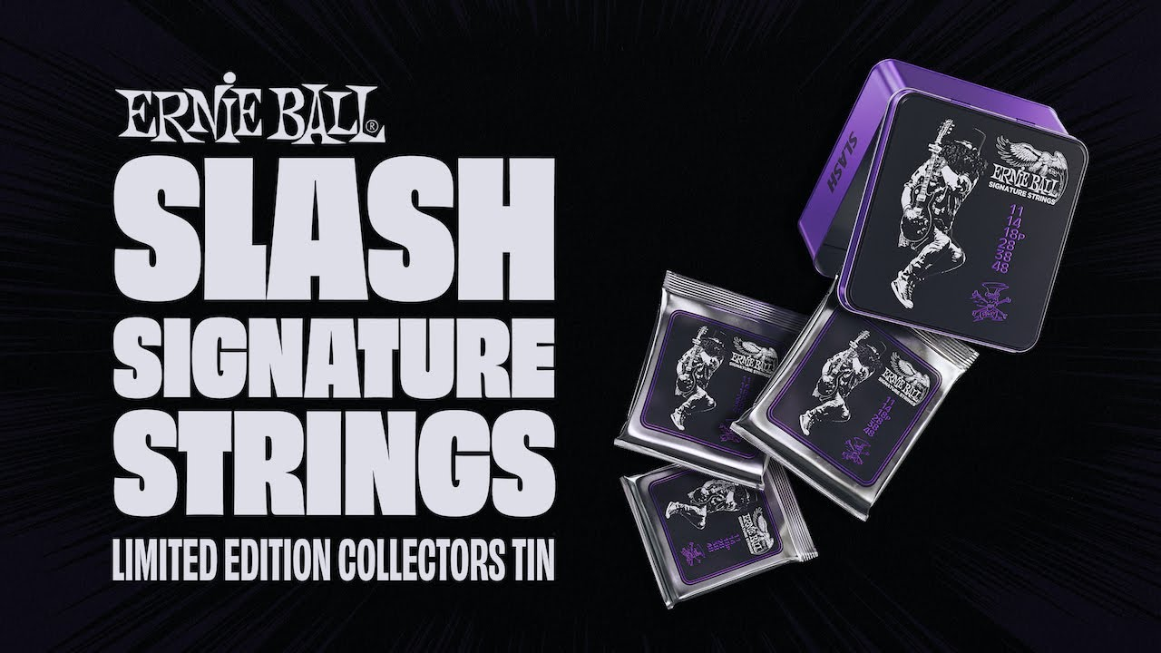 Ernie Ball: Introducing Slash Signature Strings - YouTube