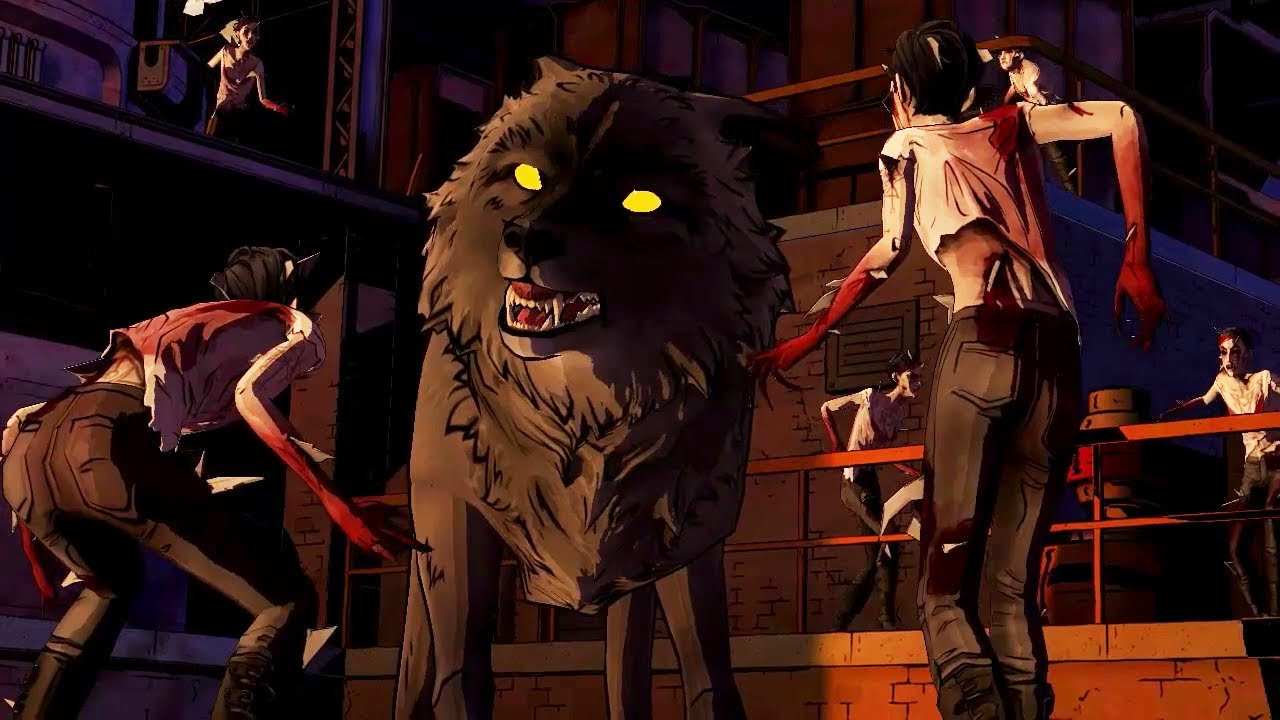 The Wolf Among Us - Bloody Mary Fight Scene - YouTube
