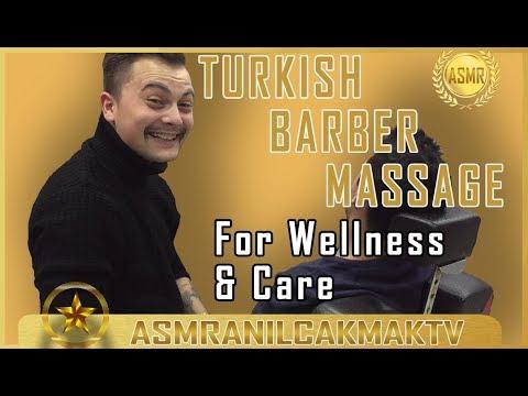 ASMR RELAXING MASSAGE ( Head Massage, Neck Massage, Back Massage )