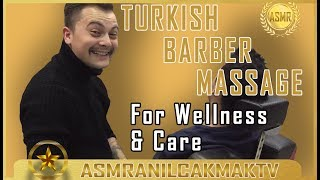 ASMR RELAXING MASSAGE ( Head Massage, Neck Massage, Back Massage )