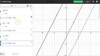 L14 GEO Point Slope (Desmos) Review
