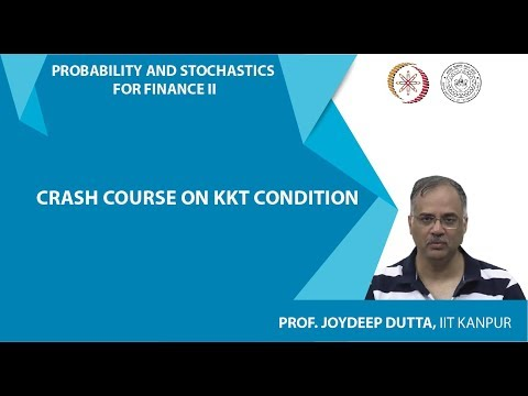 Lecture 05 - A Crash Course on KKT conditions