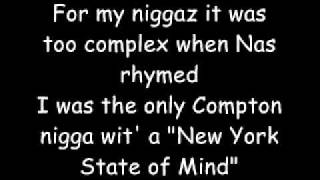 Nas - Hustlers Feat. The Game (Lyrics)