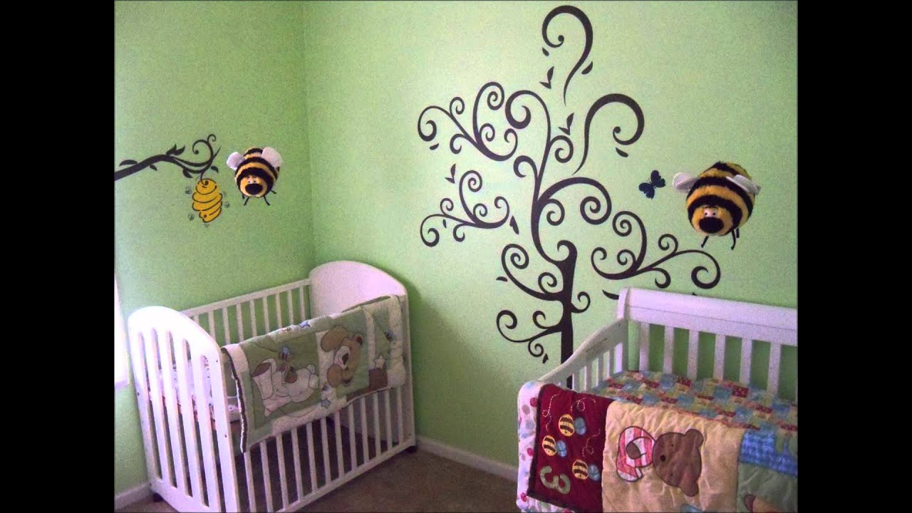 Baby Nursery Transformation With Honey Bear Bumble Bee Theme