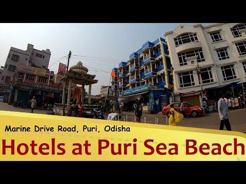 All Hotels at Puri Sea Beach Marine Drive Road Odisha