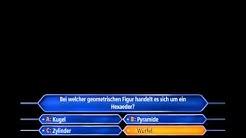 """""""Wer wird Millionär?"""" *Täglich grüßt das WWM-Spiel*! (S01/E08)"""