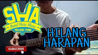Hilang harapan - stand here alone ...