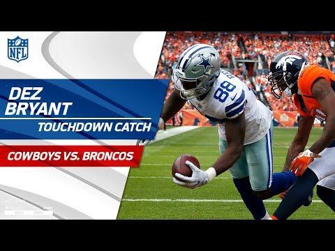 Dez Bryant Beats Aqib Talib for the TD After Cowboys Force Fumble! | Cowboys vs. Broncos | NFL Wk 2