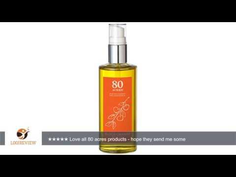 80 Acres Blood Orange Body Oil - 3.7 oz | Review/Test