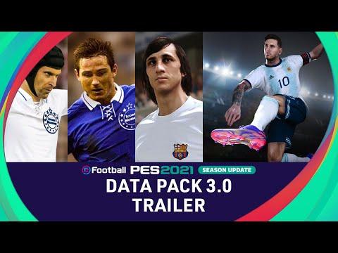 DATA PACK 3.0 Trailer - eFootball PES 2021 SEASON UPDATE