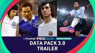 DATA PACK 3.0 Trailer - eFootball PES 2021 SEASON UPDATE