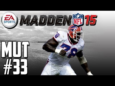 Madden NFL 15 | Madden Ultimate Team Ep.33 | Ultimate Legend Bruce Smith + EPIC Playoff Game!