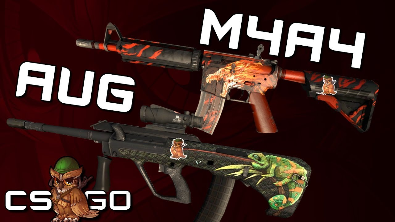 AUG or M4? Some CSGO pros believe it's no longer a choice