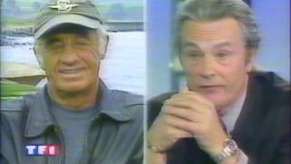 1 Chance sur 2  - Interview Belmondo & Delon - JT TF1 - 1998