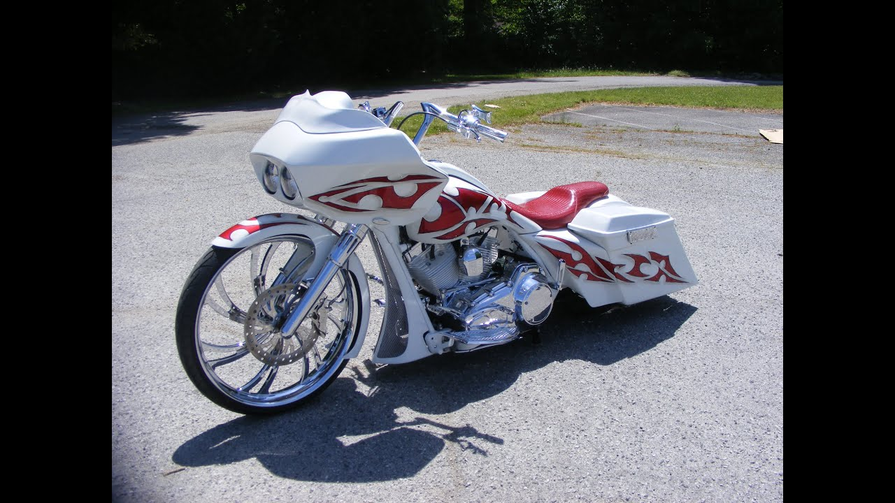 Custom Cycles LTD Anthony's 2008 26 inch Road Glide Big wheel bagger Harley  Davidson