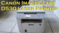 Canon ImageClass D530 Laser Printer - Unboxing