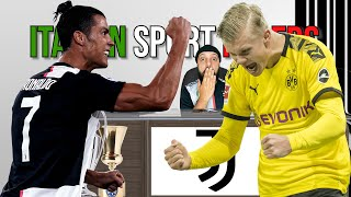 Juventus News 1 July   Haaland & Genoa Juve