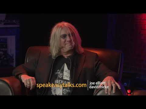 Speakeasy - Joe Elliott and David Fricke