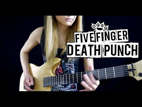 FIVE FINGER DEATH PUNCH - Hard To See Solo Cover