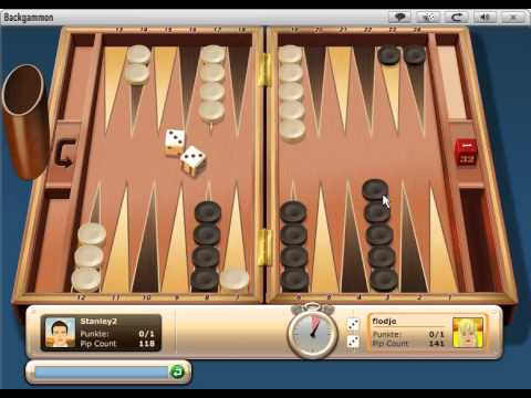 Backgammon Online Geld
