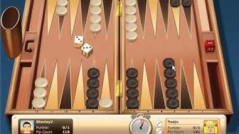 Backgammon online spielen (Gameduell)