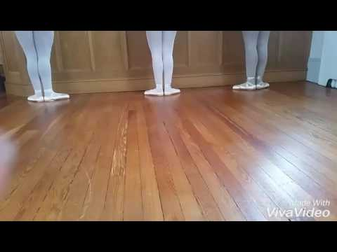 First Year Pointe Students Exercises