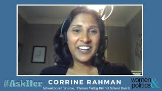 Corrine Rahman: #AskHer One Piece of Advice