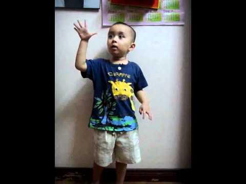 bé bin 3 tuổi  đếm từ 1 đến 100