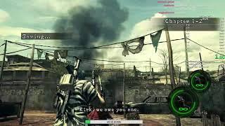 Resident Evil 5 - Co-op Speedrun - 1:12