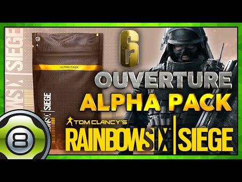 Ouverture d'Alpha Pack et Match Classé 🏆 - Rainbow Six Siege