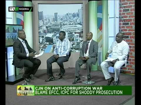 Journalists' Hangout 3rd Nov.  2015 | Chief Justice of Nigeria on Anti-corruption War