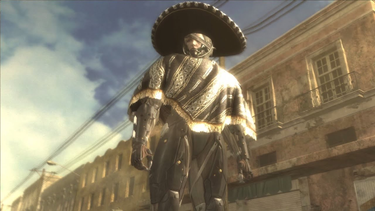 Image result for metal gear rising revengeance mariachi