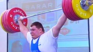 2002 European Weightlifting Championships, Men +105 kg \ Тяжелая Атлетика. Чемпионат Европы