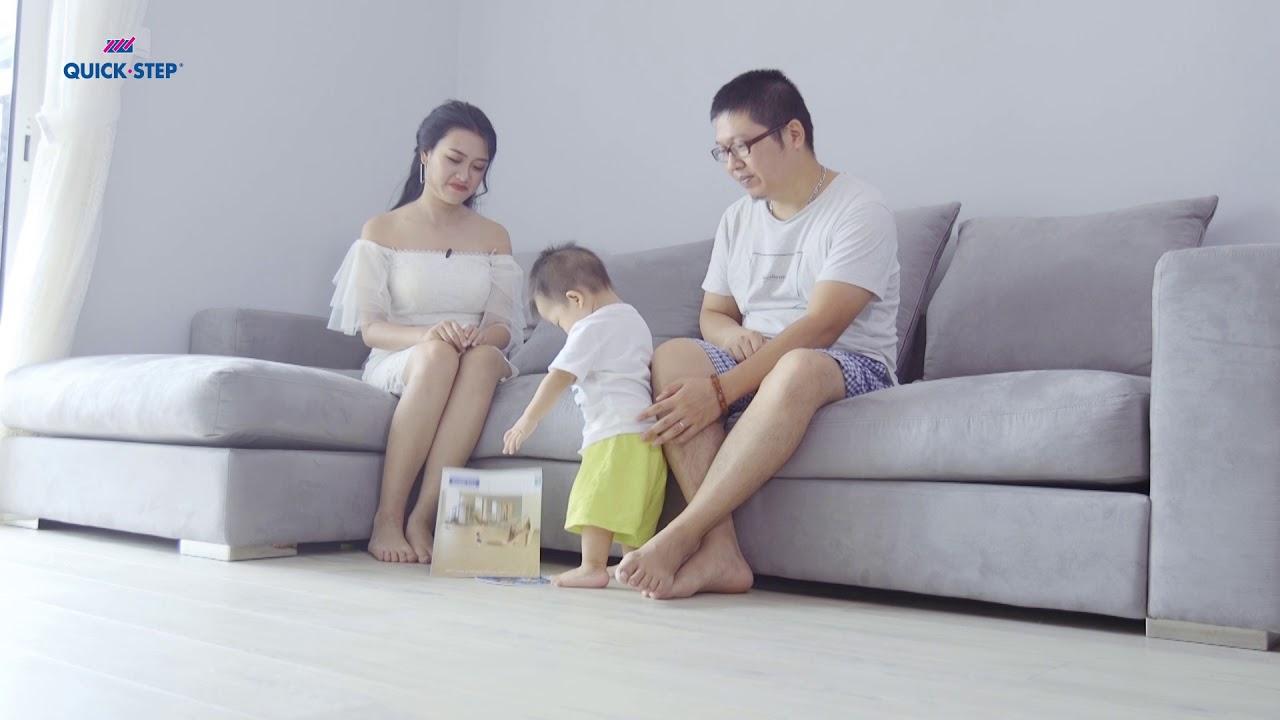 Những lưu ý khi sử dụng sàn gỗ cho phòng khách