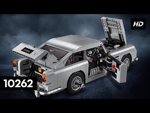 Lego Creator Expert James Bond Aston Martin Db5 10262 How To