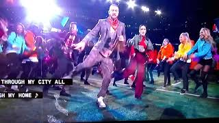 Superbowl (2018)-Justin Timberlake live from Minneapolis Minnesota- A Tribute too Prince!! M.M.
