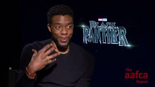 THE AAFCA REPORT: CHADWICK BOSEMAN IS BLACK PANTHER