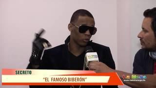 Entrevista a Secreto El Famoso Biberon  Radio La  Mega Y PV Producciones