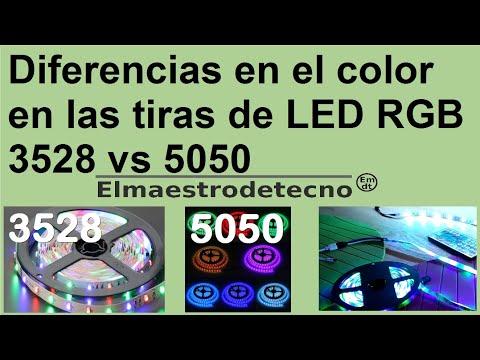 Diferencias en la mezcla de colores en las tiras de led - Tiras de led rgb ...