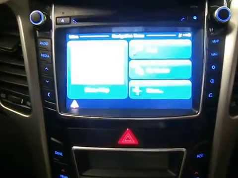 wrecking 2013 hyundai i30 radio cd player sat nav unit. Black Bedroom Furniture Sets. Home Design Ideas