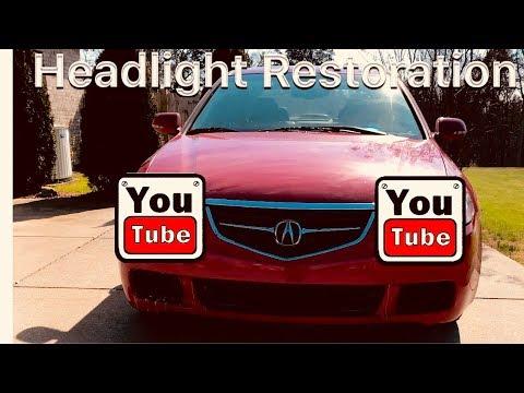 Restoring my Acura TSX Headlights