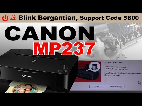 printer canon mp 237 eror 1687